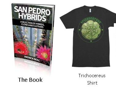 Trichocereus Volume 2 book Special Edition + shirt