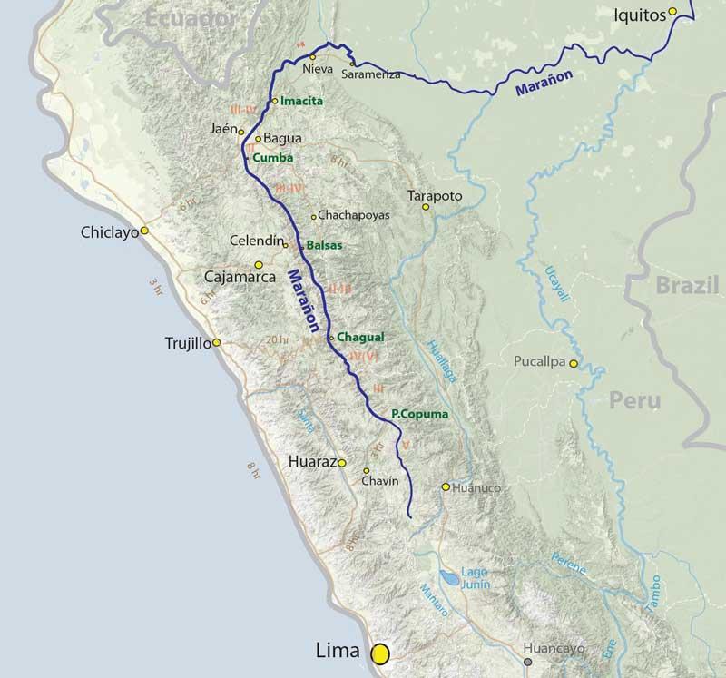 Rio Maranon Peru Trichocereus knuthianus Echinopsis knuthiana