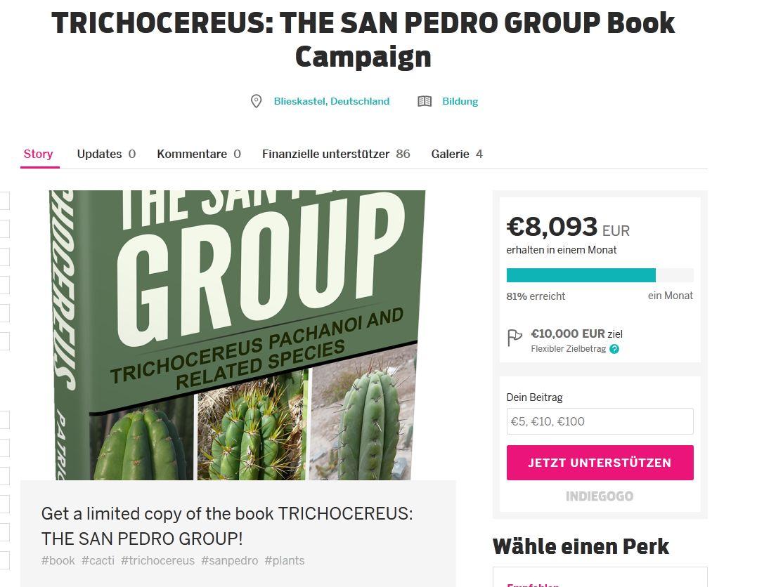 Trichocereus San Pedro Group