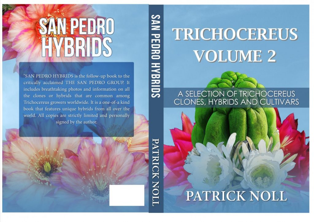 Trichocereus cover book Echinopsis Volume 2 Hybrids