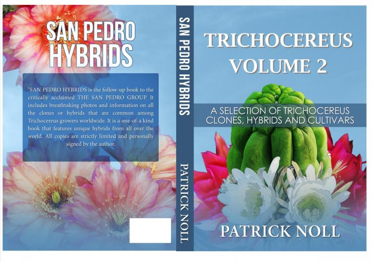 Trichocereus cover book Echinopsis Volume 2 Hybrids